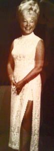 Grandma in dress